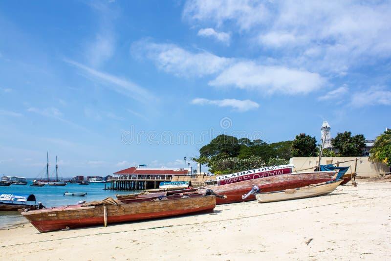 Πέτρινη πόλης παραλία στοκ φωτογραφία με δικαίωμα ελεύθερης χρήσης