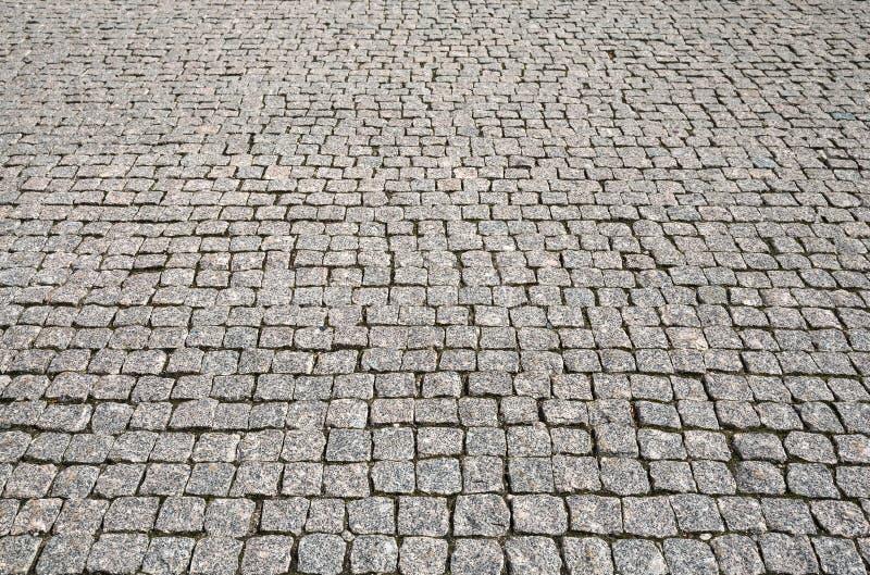 Πέτρινη σύσταση οδικών πεζοδρομίων οδών στοκ εικόνες