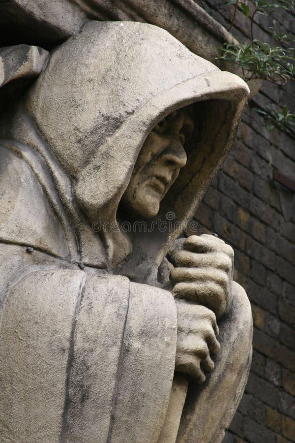 Πέτρινος μοναχός στοκ εικόνες