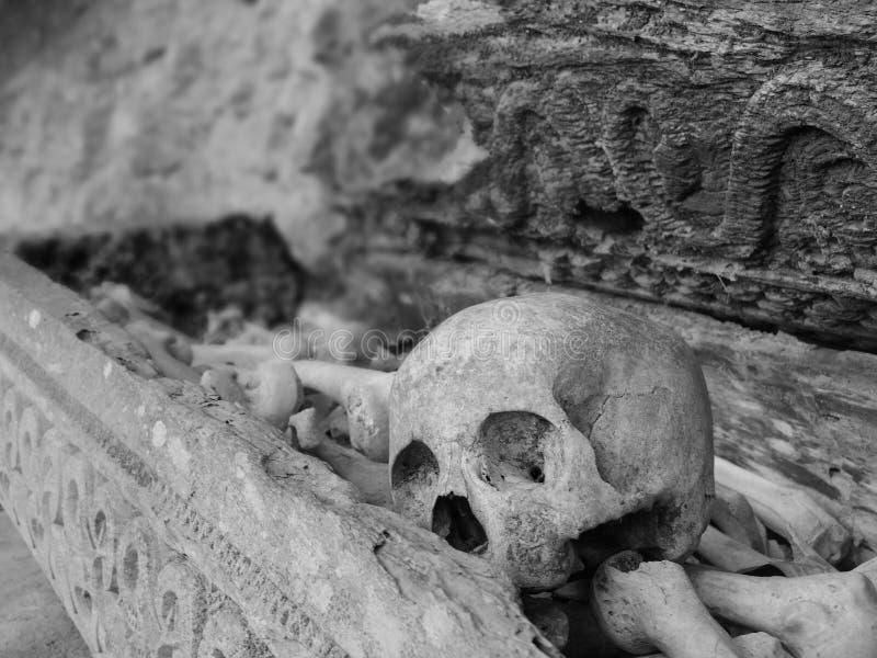 Πέτρινος τάφος σε Ketekesu στοκ εικόνα