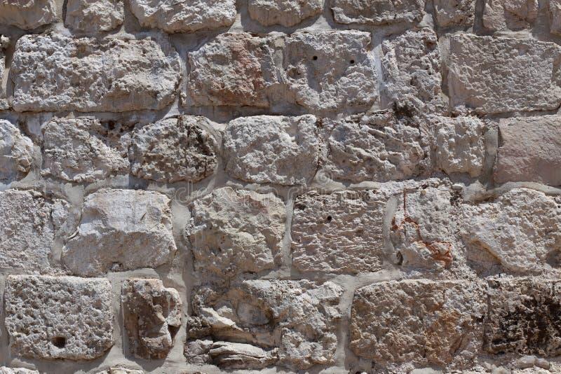Πέτρινος τοίχος της Ιερουσαλήμ στοκ φωτογραφία