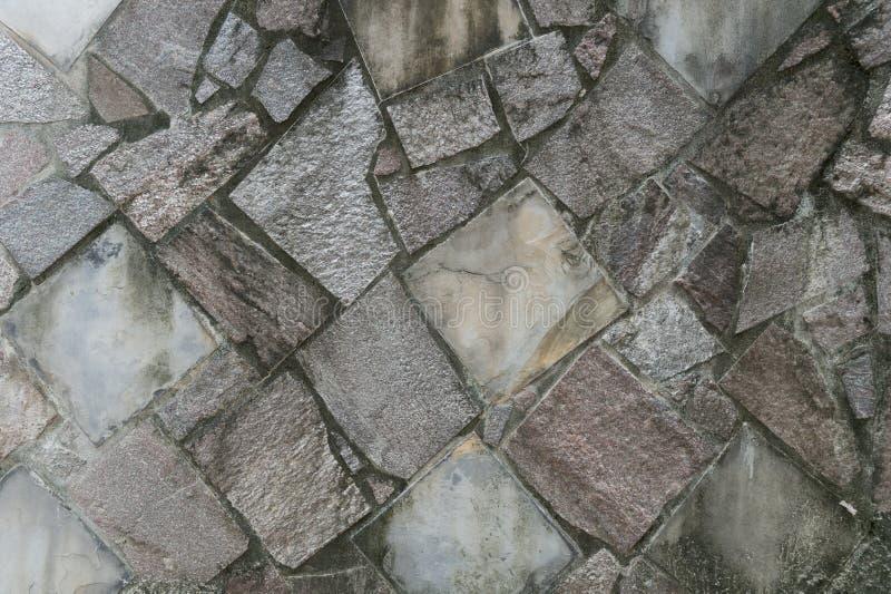 Πέτρινος τουβλότοιχος σύστασης κεραμιδιών στοκ εικόνες
