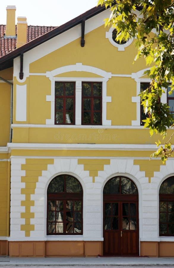 Πέτρινο κτήριο στοκ εικόνα με δικαίωμα ελεύθερης χρήσης