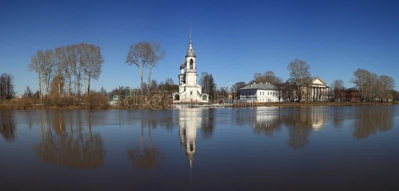 Πέτρινο παρεκκλησι, Ορθόδοξη Εκκλησία, Ρωσία στοκ φωτογραφία με δικαίωμα ελεύθερης χρήσης