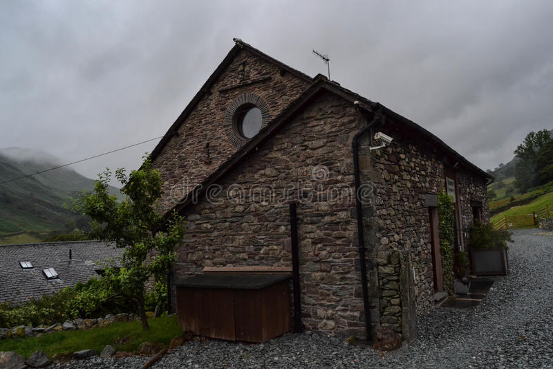 Πέτρινο σπίτι, Αγγλία στοκ εικόνες