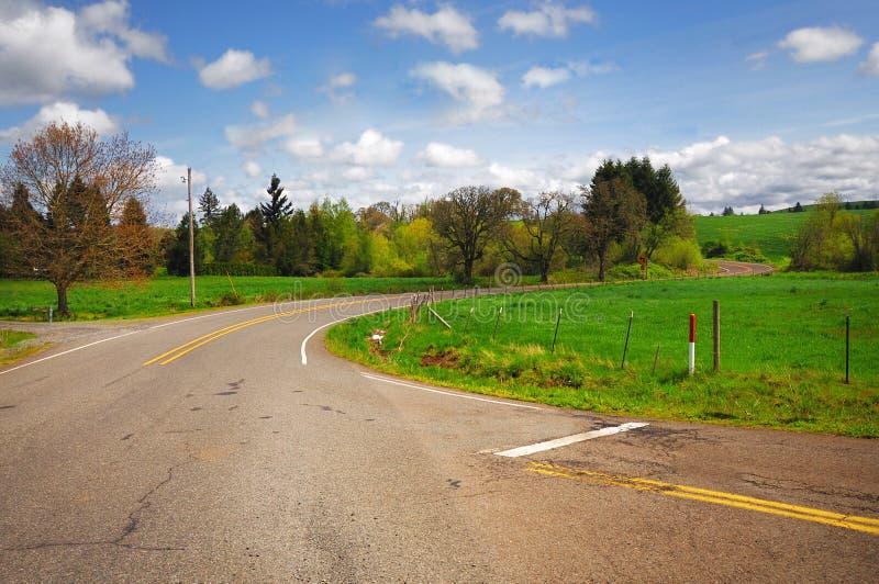 πέφτει κοντά στην ασημένια κρατική όψη πάρκων του Όρεγκον στοκ φωτογραφία με δικαίωμα ελεύθερης χρήσης