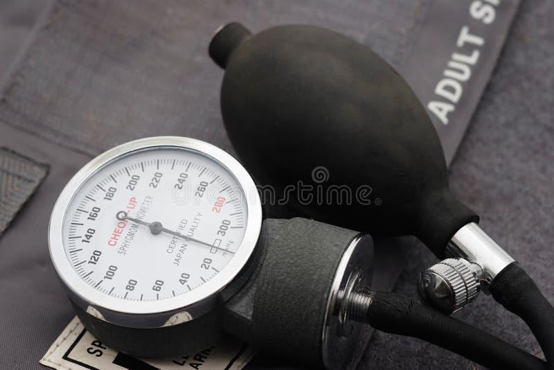 πίεση μέτρου αίματος στοκ εικόνες