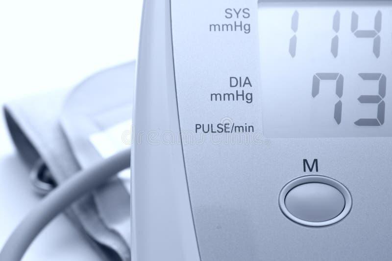 πίεση μηνυτόρων αίματος στοκ εικόνα με δικαίωμα ελεύθερης χρήσης