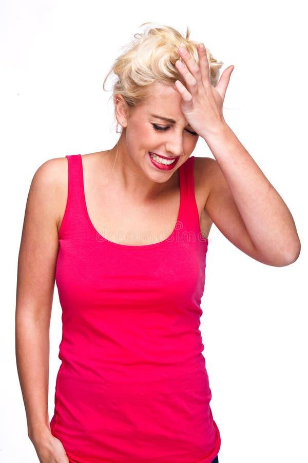 Download πίεση πόνου απογοήτευση&si στοκ εικόνες. εικόνα από θηλυκό - 17051924