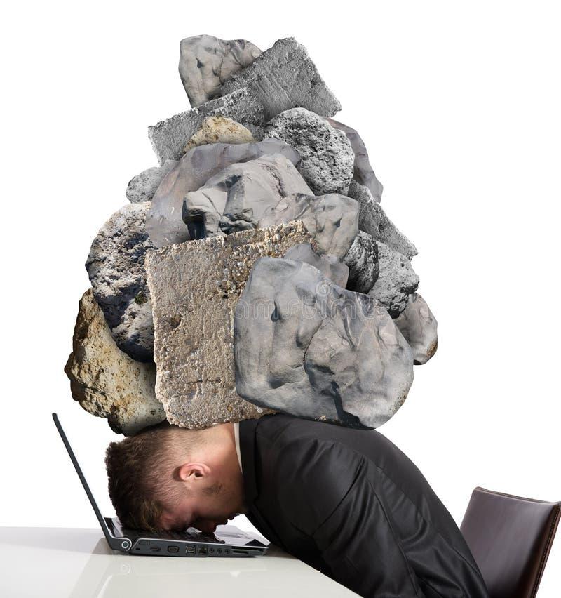 Πίεση στην εργασία στοκ εικόνα με δικαίωμα ελεύθερης χρήσης
