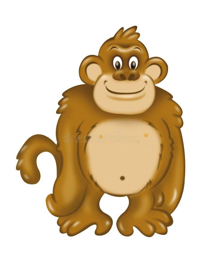 πίθηκος εύθυμος απεικόνιση αποθεμάτων