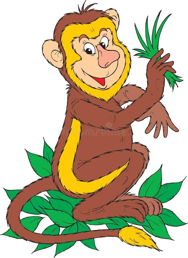 Πίθηκος απεικόνιση αποθεμάτων