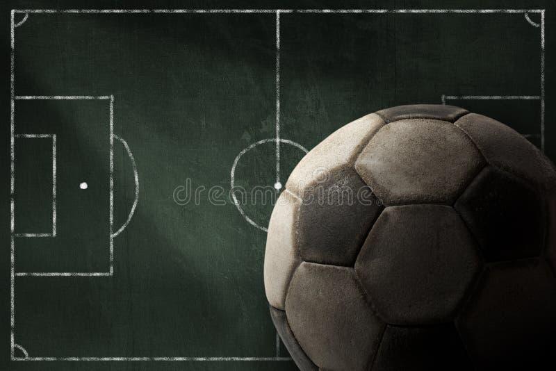 Πίνακας - αθλητισμός του ποδοσφαίρου απεικόνιση αποθεμάτων