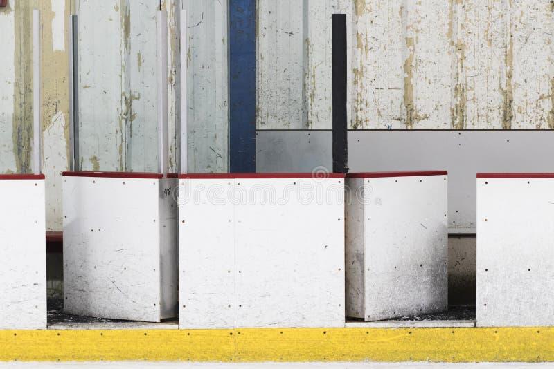 Πίνακας αιθουσών παγοδρομίας χόκεϋ πάγου στοκ εικόνες