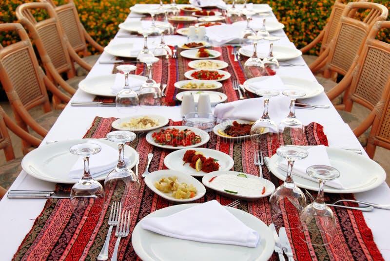 πίνακας γευμάτων στοκ εικόνες