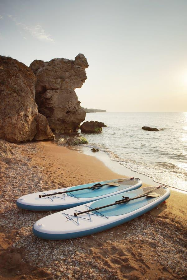 Πίνακας ΓΟΥΛΙΑΣ σε μια παραλία στοκ εικόνες με δικαίωμα ελεύθερης χρήσης