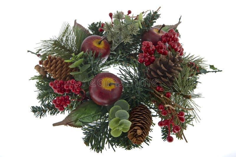 πίνακας διακοσμήσεων Χριστουγέννων εμφάνισης στοκ εικόνες
