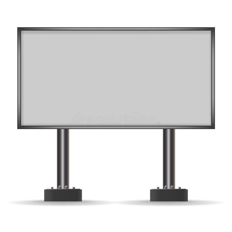 Πίνακας διαφημίσεων για τη διαφήμιση διάνυσμα στοκ εικόνα