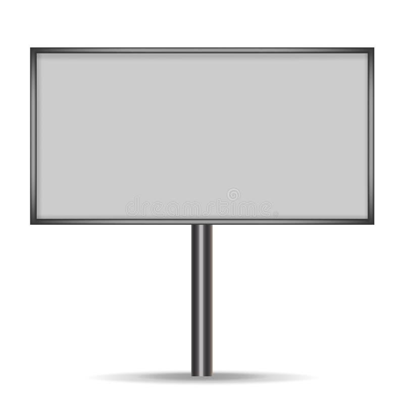 Πίνακας διαφημίσεων για τη διαφήμιση διάνυσμα στοκ εικόνες