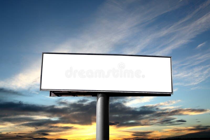 πίνακας διαφημίσεων κενό&sigmaf στοκ εικόνες