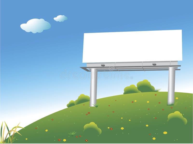 πίνακας διαφημίσεων διανυσματική απεικόνιση