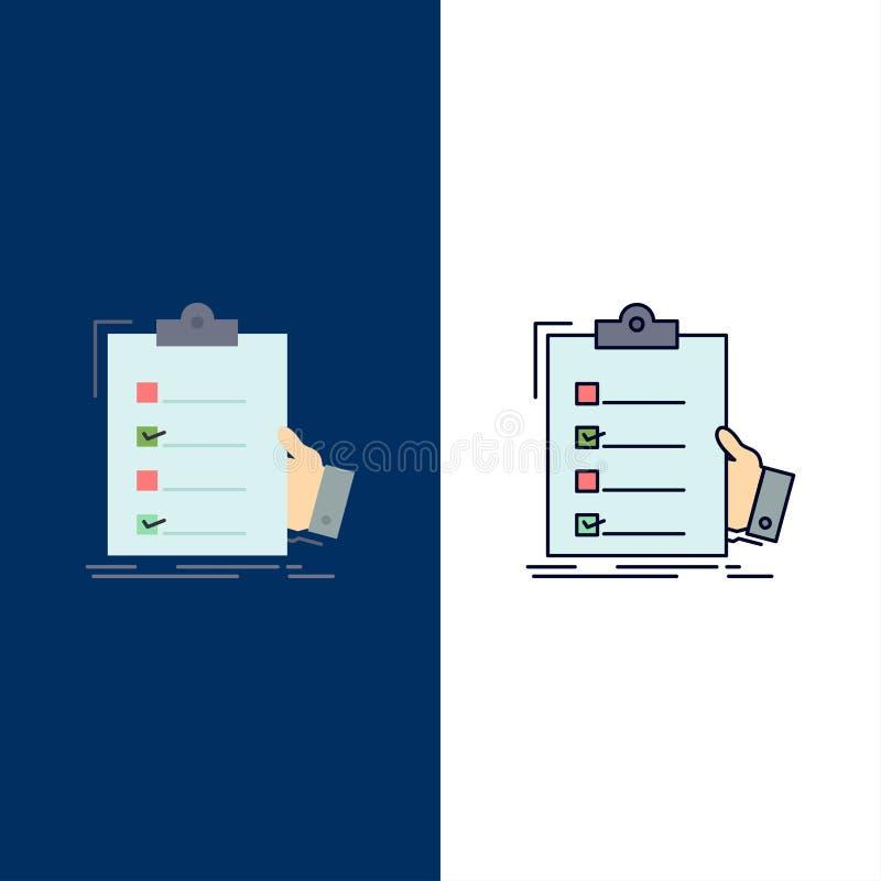 πίνακας ελέγχου, έλεγχος, πείρα, κατάλογος, επίπεδο διάνυσμα εικονιδίων χρώματος περιοχών αποκομμάτων ελεύθερη απεικόνιση δικαιώματος