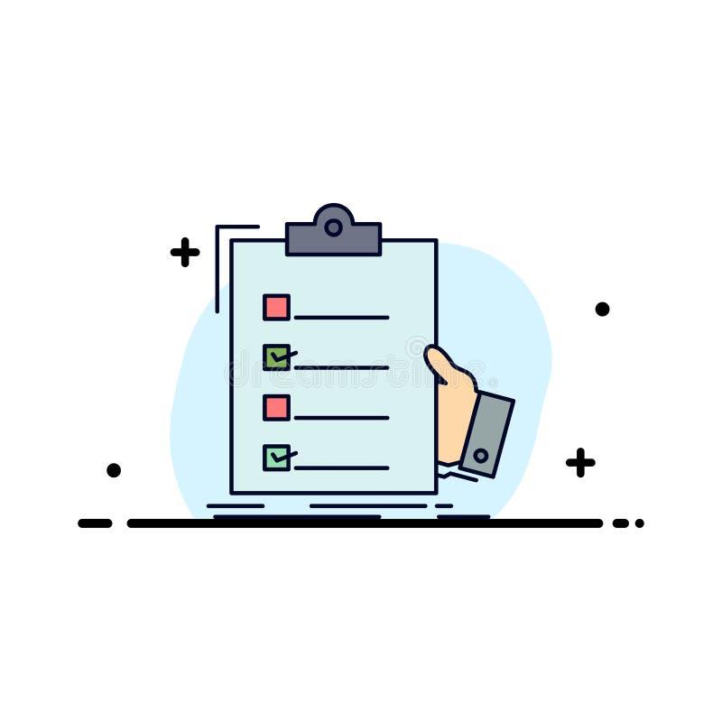 πίνακας ελέγχου, έλεγχος, πείρα, κατάλογος, επίπεδο διάνυσμα εικονιδίων χρώματος περιοχών αποκομμάτων απεικόνιση αποθεμάτων
