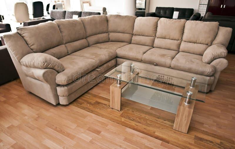 πίνακας καναπέδων γωνιών στοκ φωτογραφία με δικαίωμα ελεύθερης χρήσης