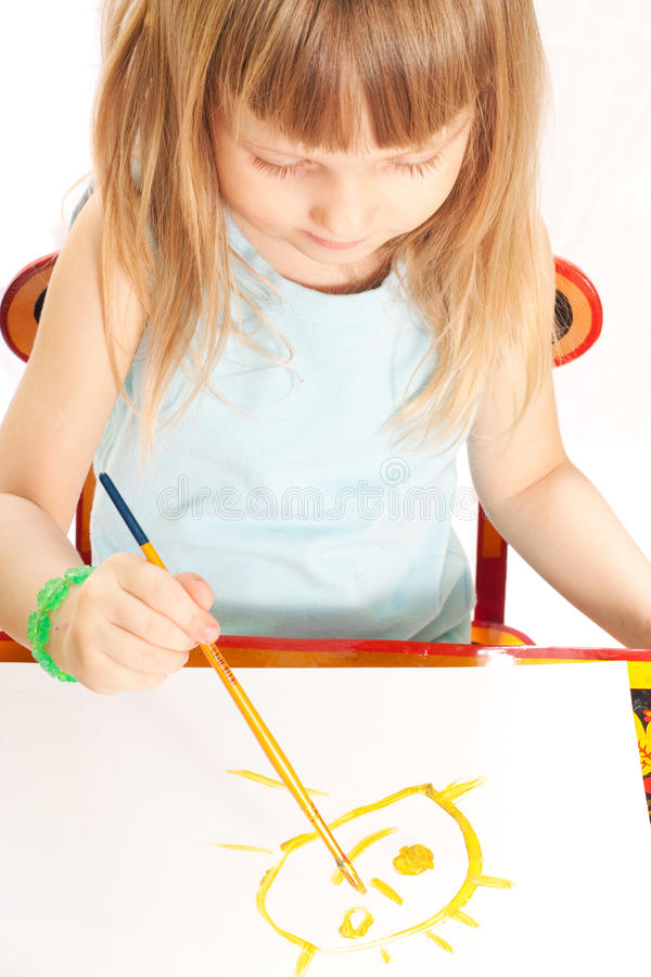 πίνακας κοριτσιών στοκ φωτογραφία με δικαίωμα ελεύθερης χρήσης