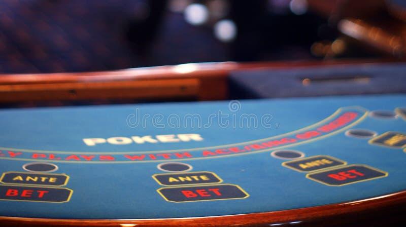 πίνακας πόκερ λεπτομερειών στοκ φωτογραφία με δικαίωμα ελεύθερης χρήσης