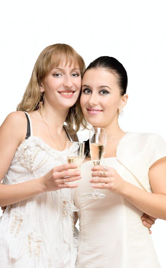 πίνοντας νεολαίες κορι&tau στοκ εικόνα με δικαίωμα ελεύθερης χρήσης