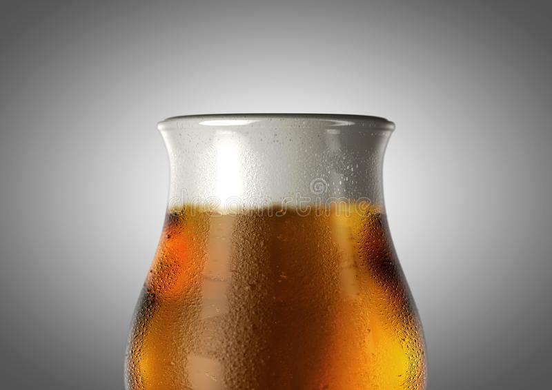 Πίντα μπύρας τουλιπών στοκ φωτογραφίες