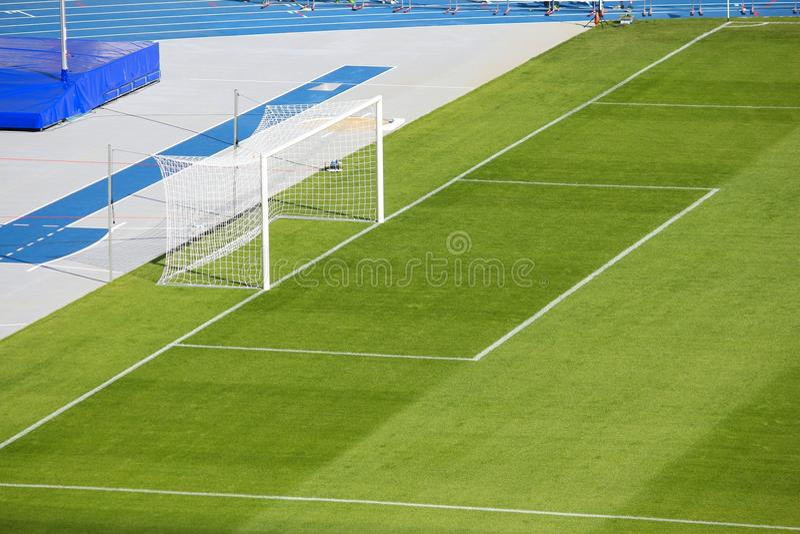 Πίσσα ποδοσφαίρου στοκ φωτογραφία με δικαίωμα ελεύθερης χρήσης