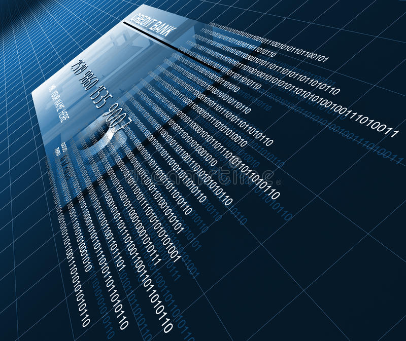 πίστωση καρτών ανασκόπησης απεικόνιση αποθεμάτων