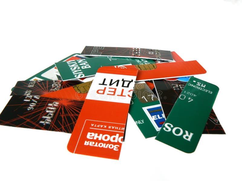 πίστωση καρτών στοκ φωτογραφίες