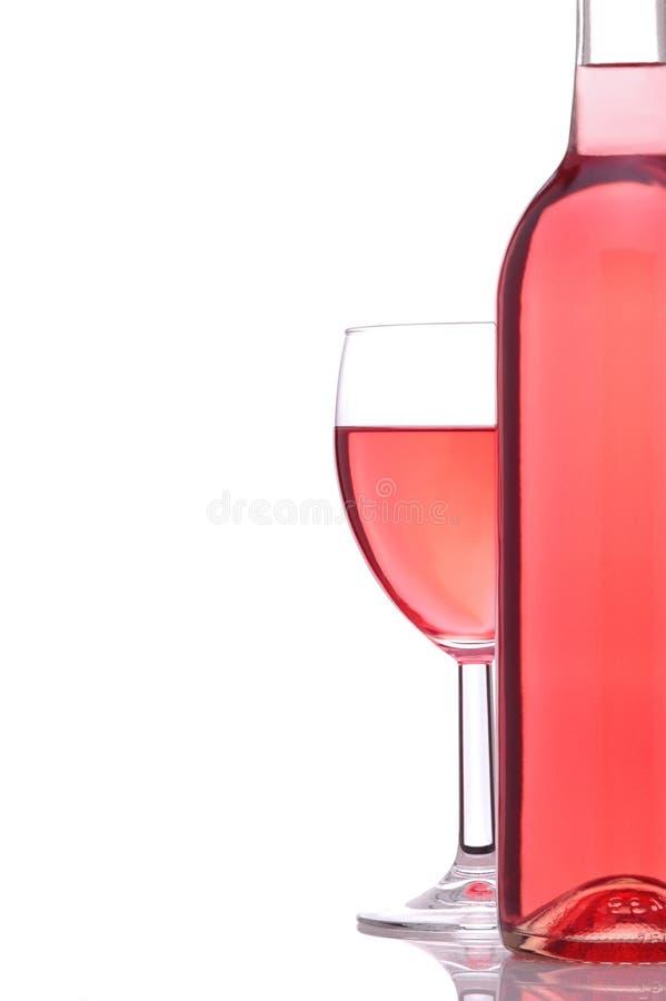 πίσω από το κρασί γυαλιού μ&p στοκ φωτογραφία με δικαίωμα ελεύθερης χρήσης