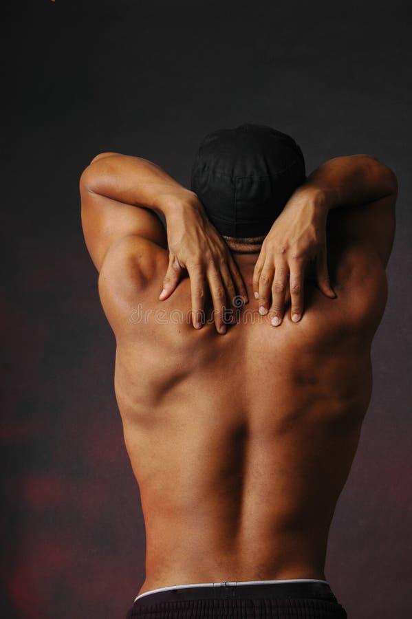 πίσω αρσενικό δάχτυλων στοκ εικόνες με δικαίωμα ελεύθερης χρήσης