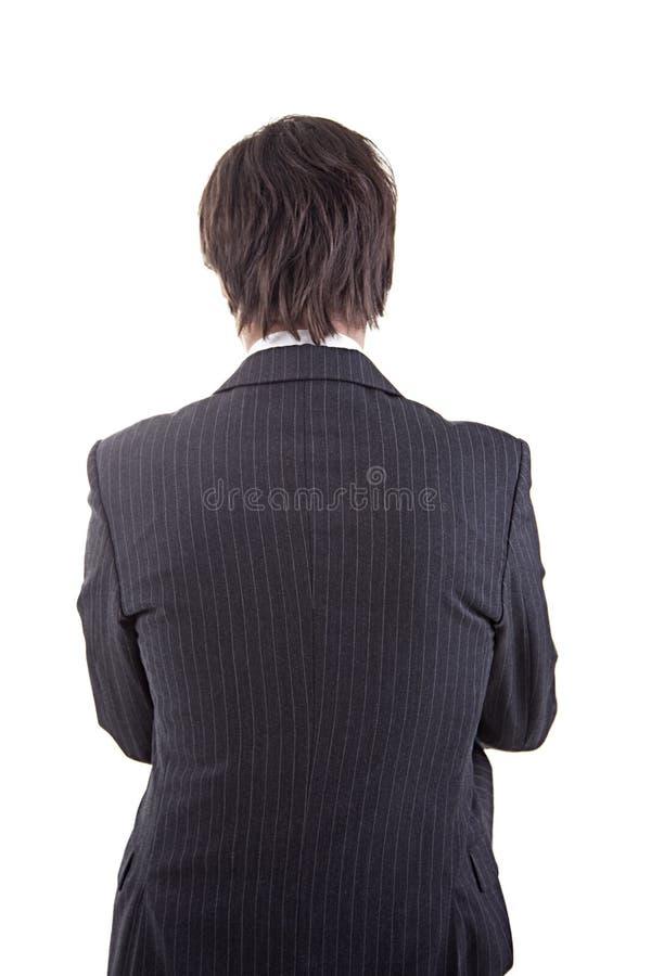 πίσω επιχειρηματίας στοκ εικόνα με δικαίωμα ελεύθερης χρήσης