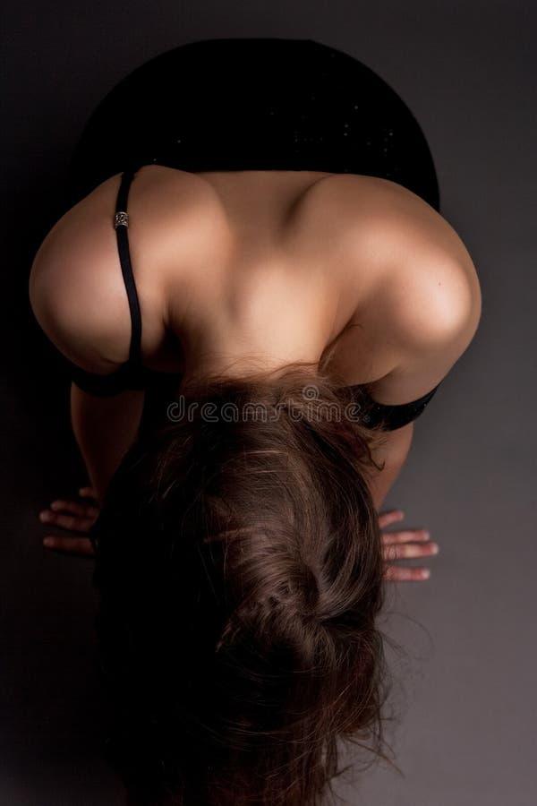 πίσω θηλυκές αρκετά προκ&lam στοκ φωτογραφία με δικαίωμα ελεύθερης χρήσης