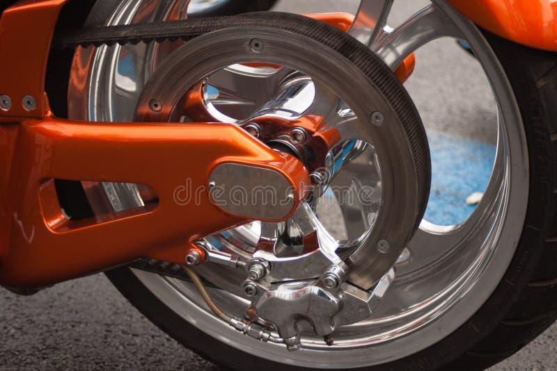 Πίσω μέρος της μοτοσικλέτας στοκ φωτογραφίες