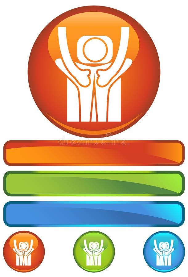 πίσω πορτοκαλής κύκλος μ& ελεύθερη απεικόνιση δικαιώματος