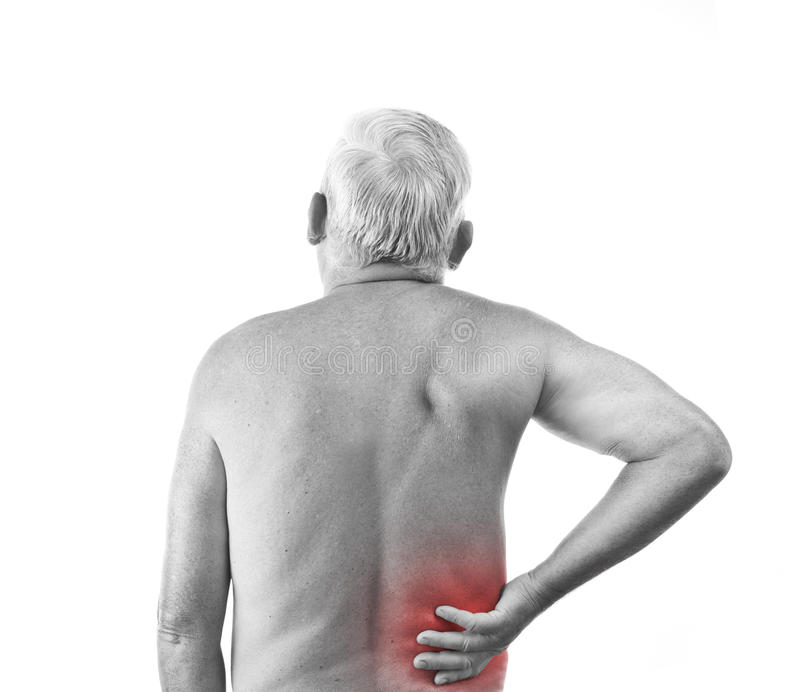 πίσω πόνος ατόμων στοκ φωτογραφίες με δικαίωμα ελεύθερης χρήσης