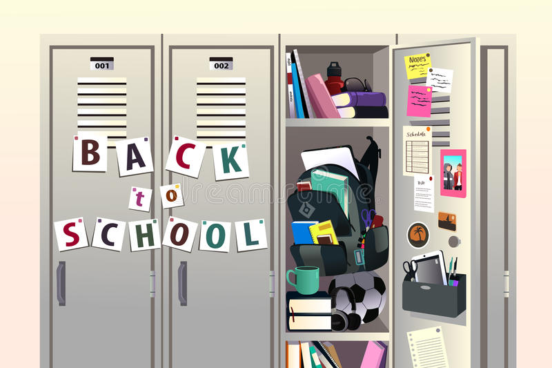 πίσω σχολείο ανασκόπησης διανυσματική απεικόνιση