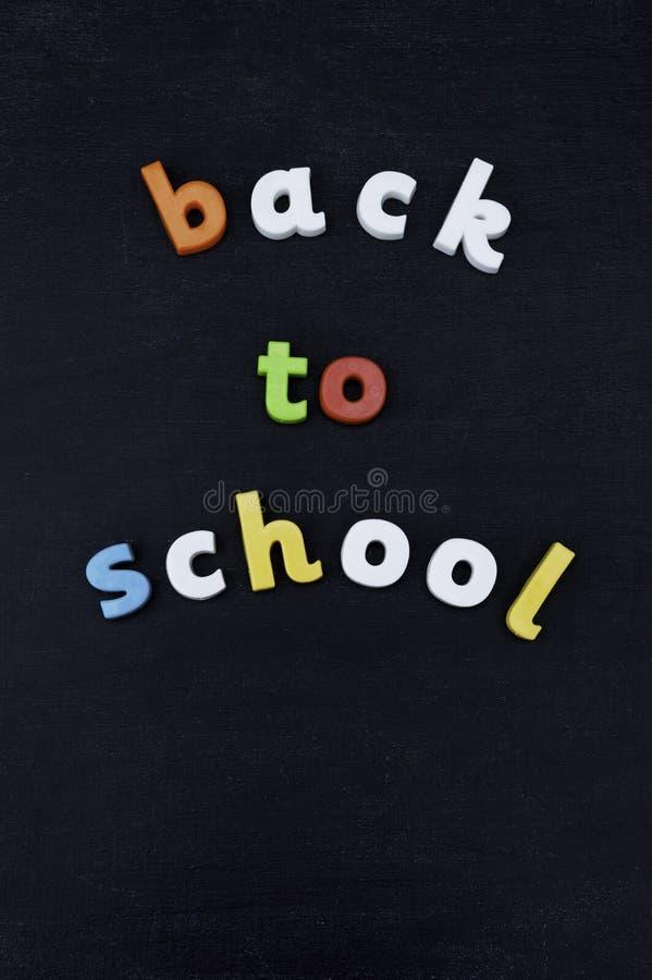 πίσω σχολείο πινάκων κιμωλίας στοκ φωτογραφίες με δικαίωμα ελεύθερης χρήσης