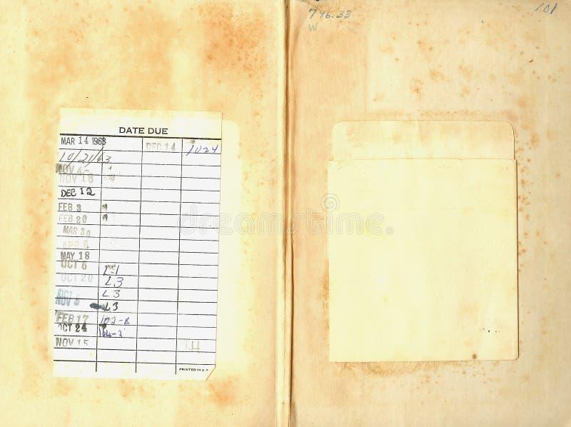 πίσω τρύγος βιβλιοθηκών βιβλίων στοκ φωτογραφίες