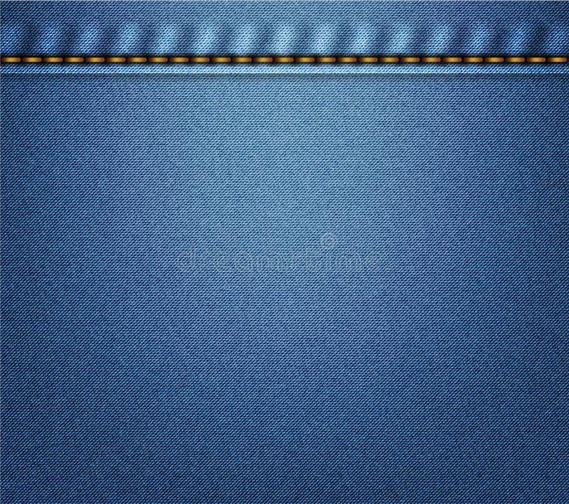 πίσω τσέπη τζιν ανασκόπησης διανυσματική απεικόνιση