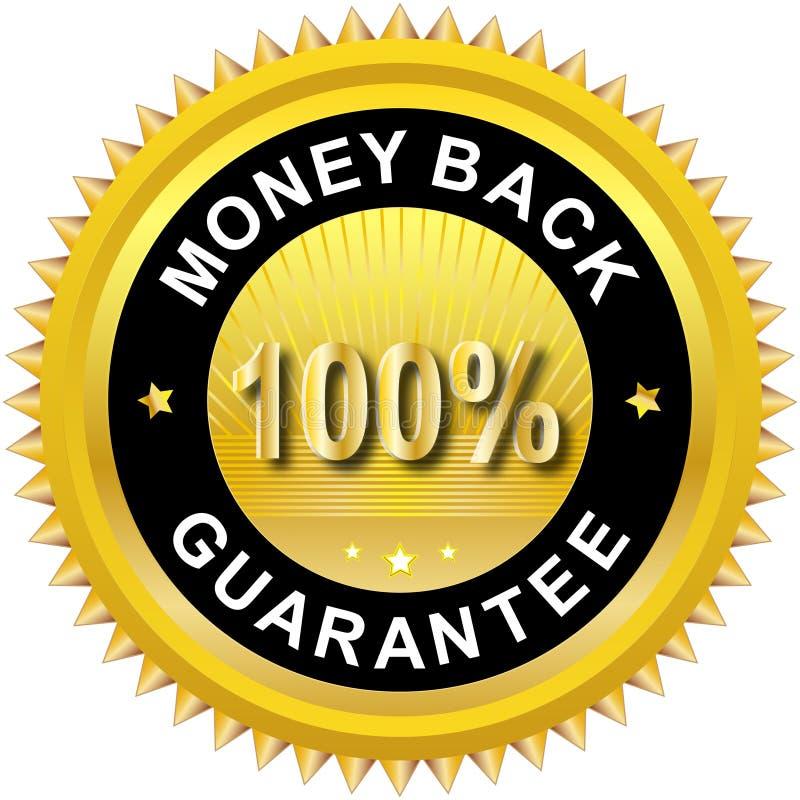 πίσω χρήματα ετικετών διανυσματική απεικόνιση