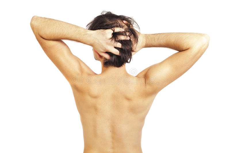 πίσω όμορφες γυμνές νεολ&alp στοκ φωτογραφία με δικαίωμα ελεύθερης χρήσης