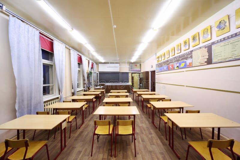 πίσω όψη σχολικών πινάκων κλά στοκ φωτογραφία