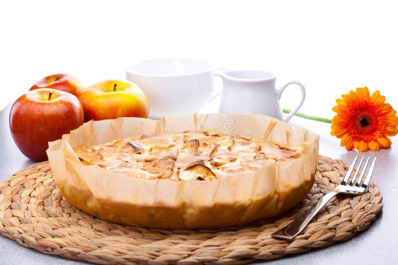 πίτα γάλακτος κανατών gerbera φλ&u στοκ εικόνα